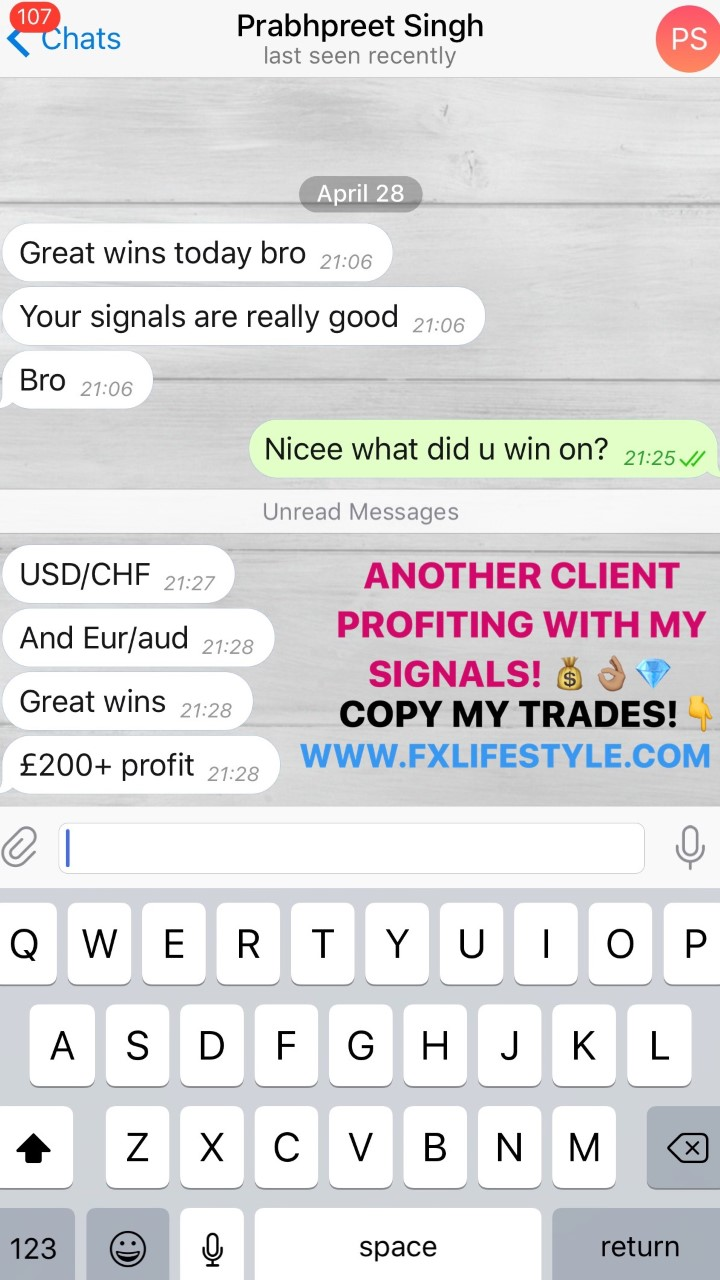 Honest forex signals results